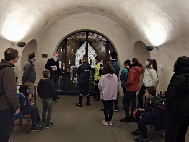 Crypte St. Willibrord (7e/8e siècle) Echternach